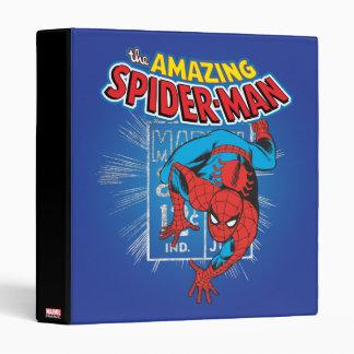 Spider-Man Retro Price Graphic 3 Ring Binders