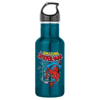 Spider-Man Retro Price Graphic 532 Ml Water Bottle