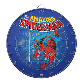 Spider-Man Retro Price Graphic Dartboard