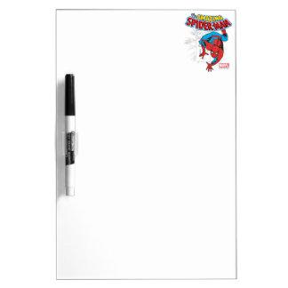 Spider-Man Retro Price Graphic Dry Erase Whiteboards