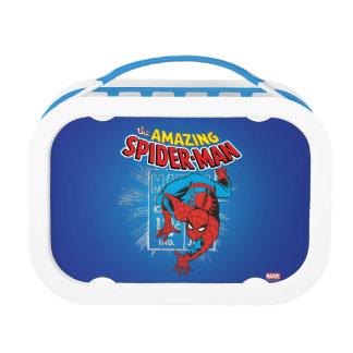 Spider-Man Retro Price Graphic Lunch Box