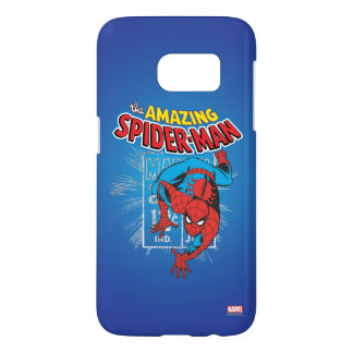 Spider-Man Retro Price Graphic Samsung Galaxy S7 Case