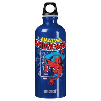 Spider-Man Retro Price Graphic Water Bottle
