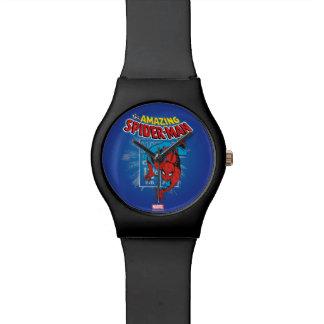 Spider-Man Retro Price Graphic Wrist Watch