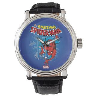 Spider-Man Retro Price Graphic Wrist Watches
