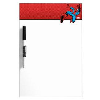 Spider-Man Retro Swinging Kick Dry Erase Whiteboards