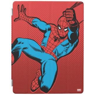 Spider-Man Retro Swinging Kick iPad Cover