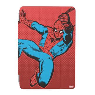 Spider-Man Retro Swinging Kick iPad Mini Cover