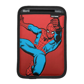 Spider-Man Retro Swinging Kick iPad Mini Sleeve