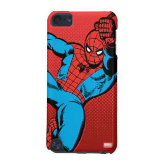 Spider-Man Retro Swinging Kick iPod Touch 5G Case