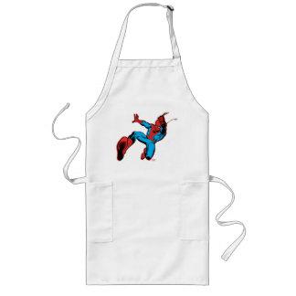 Spider-Man Retro Swinging Kick Long Apron