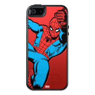 Spider-Man Retro Swinging Kick OtterBox iPhone 5/5s/SE Case
