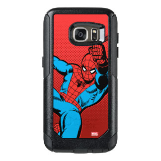 Spider-Man Retro Swinging Kick OtterBox Samsung Galaxy S7 Case
