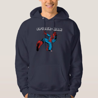 Spider-Man Retro Swinging Kick Sweatshirt