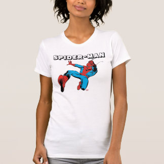 Spider-Man Retro Swinging Kick T-Shirt