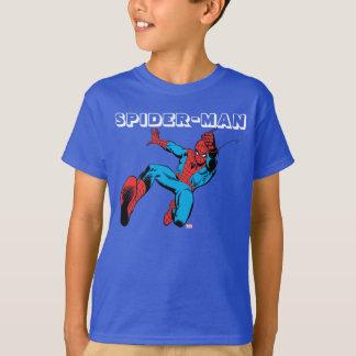 Spider-Man Retro Swinging Kick T-Shirt