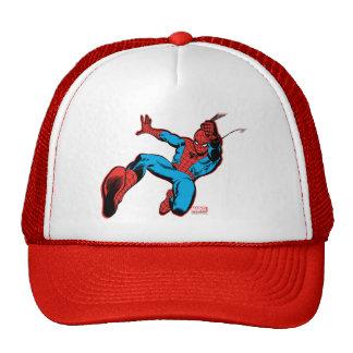 Spider-Man Retro Swinging Kick Trucker Hat