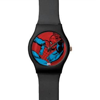 Spider-Man Retro Swinging Kick Wristwatch