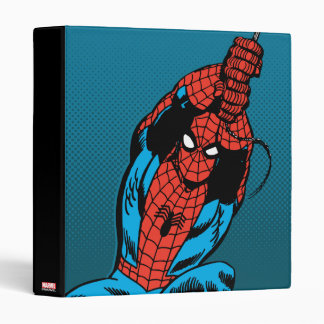 Spider-Man Retro Web Swing 3 Ring Binders