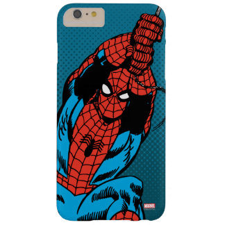 Spider-Man Retro Web Swing Barely There iPhone 6 Plus Case