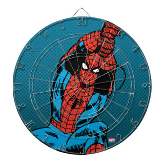 Spider-Man Retro Web Swing Dartboard