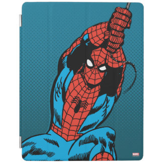 Spider-Man Retro Web Swing iPad Cover