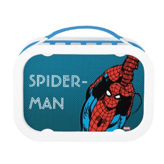 Spider-Man Retro Web Swing Lunch Box