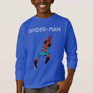 Spider-Man Retro Web Swing Shirt