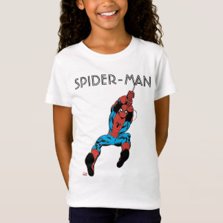 Spider-Man Retro Web Swing T-Shirt