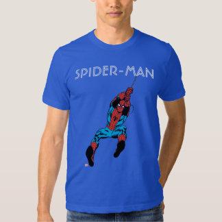 Spider-Man Retro Web Swing T-shirts