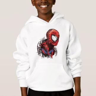 Spider-Man Sketched Marker Drawing