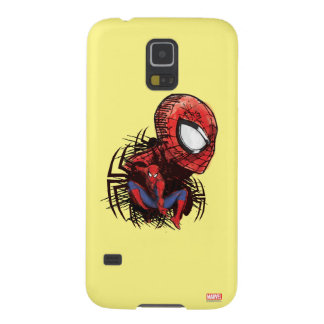 Spider-Man Sketched Marker Drawing Galaxy S5 Cover