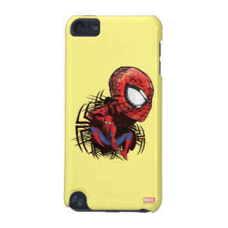 Spider-Man Sketched Marker Drawing iPod Touch 5G Cover