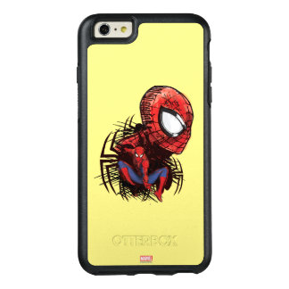 Spider-Man Sketched Marker Drawing OtterBox iPhone 6/6s Plus Case
