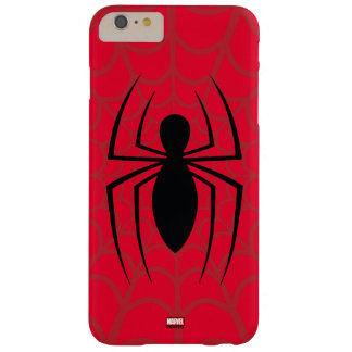 Spider-Man Skinny Spider Logo Barely There iPhone 6 Plus Case