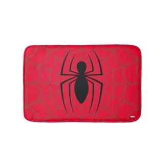 Spider-Man Skinny Spider Logo Bath Mat