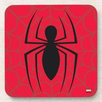 Spider-Man Skinny Spider Logo Coaster
