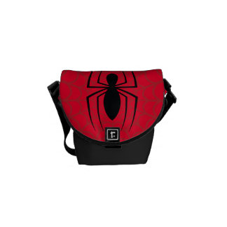 Spider-Man Skinny Spider Logo Courier Bags