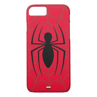 Spider-Man Skinny Spider Logo iPhone 7 Case