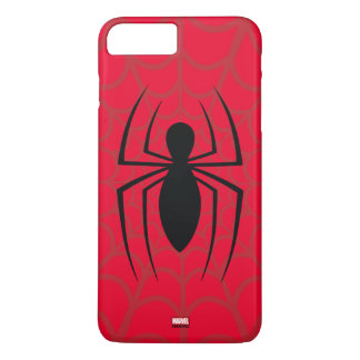 Spider-Man Skinny Spider Logo iPhone 8 Plus/7 Plus Case