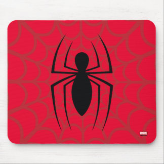 Spider-Man Skinny Spider Logo Mouse Pad