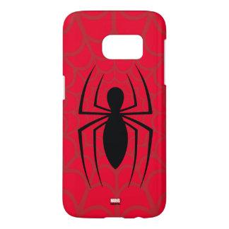 Spider-Man Skinny Spider Logo Samsung Galaxy S7 Case