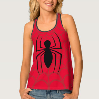Spider-Man Skinny Spider Logo Tank Top