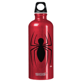 Spider-Man Skinny Spider Logo Water Bottle