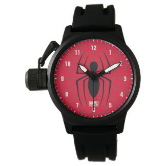 Spider-Man Skinny Spider Logo Wrist Watch