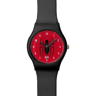 Spider-Man Skinny Spider Logo Wrist Watches
