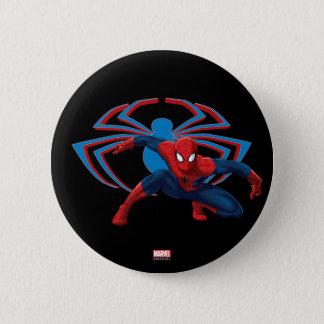 Spider-Man & Spider Character Art 2 Inch Round Button