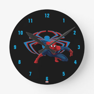 Spider-Man & Spider Character Art Clocks
