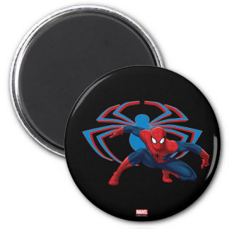 Spider-Man & Spider Character Art Magnet
