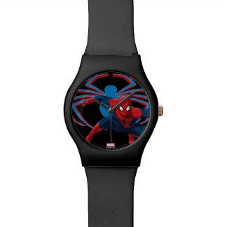 Spider-Man & Spider Character Art Wrist Watches